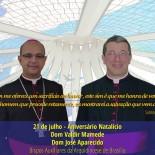 Igreja de Brasília saúda Dom Valdir Mamede e Dom José Aparecido pelo aniversário