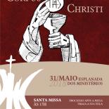 Corpus Christi - Santa Missa as 17hs