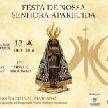 Dia da Padroeira do Brasil e da Capital Federal