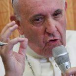 Veja o que foi destaque na coletiva do Papa com jornalistas
