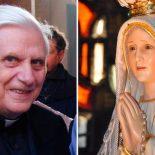 Esta foi a explicação do Cardeal Ratzinger sobre o terceiro segredo de Fátima