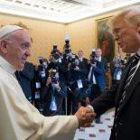 Papa Francisco recebe Donald Trump e o convida a cultivar a paz