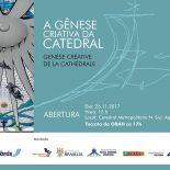 """Novo espaço para os turistas - """"Gênese criativa da catedral"""""""