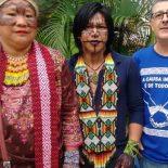 Indígenas, agentes de pastoral e bispos brasileiros em encontro com o Papa