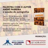 """Catedral Convida para o dia 23/11 as 19:30hs - """"Família Fora de Moda?"""""""