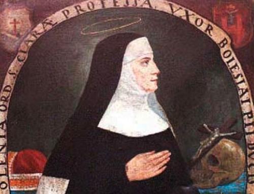 Santa Iolanda, clarissa