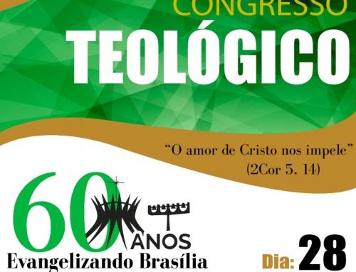 Venha participar do congresso teológico 28/09
