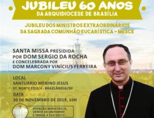 Jubileu dos Mesce é neste sábado, 30 de novembro