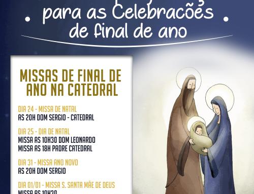 Missas de final de ano na Catedral