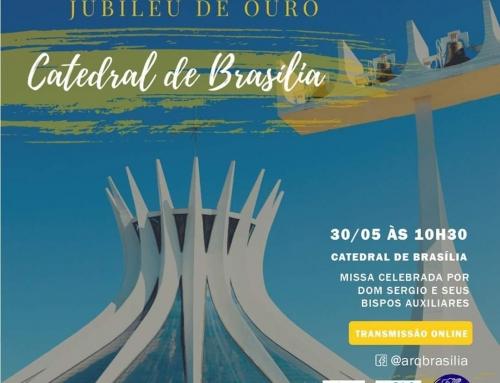 Missa ao Vivo Sábado 10h30 – Jubileu de Ouro Catedral de Brasília