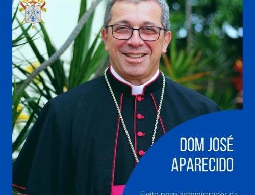 Dom José Aparecido eleito o novo Administrador da Arquidiocese de Brasília