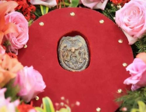 180 anos de devoção ao Pai Eterno: Medalhão original é exposto pela primeira vez