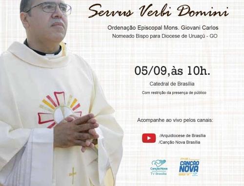Ordenação Episcopal Mons. Giovani Carlos