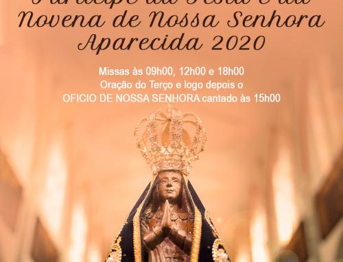 Festa e Novena de Nossa Senhora Aparecida 2020