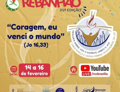 14 a 16/02 – Rebanhão – Acompanhe pelo Youtube